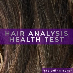 Hair Analysis Test - Mineral Check including Boron