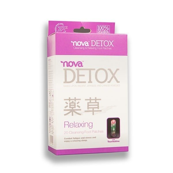 Nova Detox Cleansing and Relaxing Foot Patches